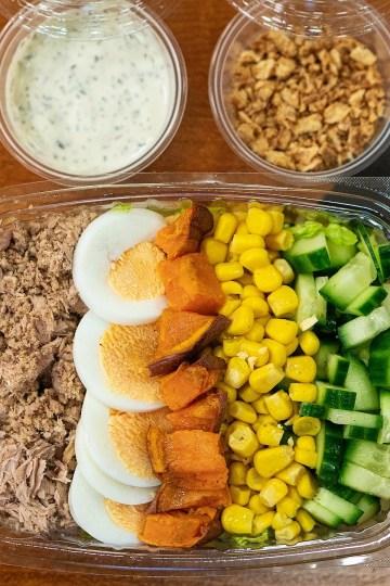 salud salad, behavioural foodie, self control