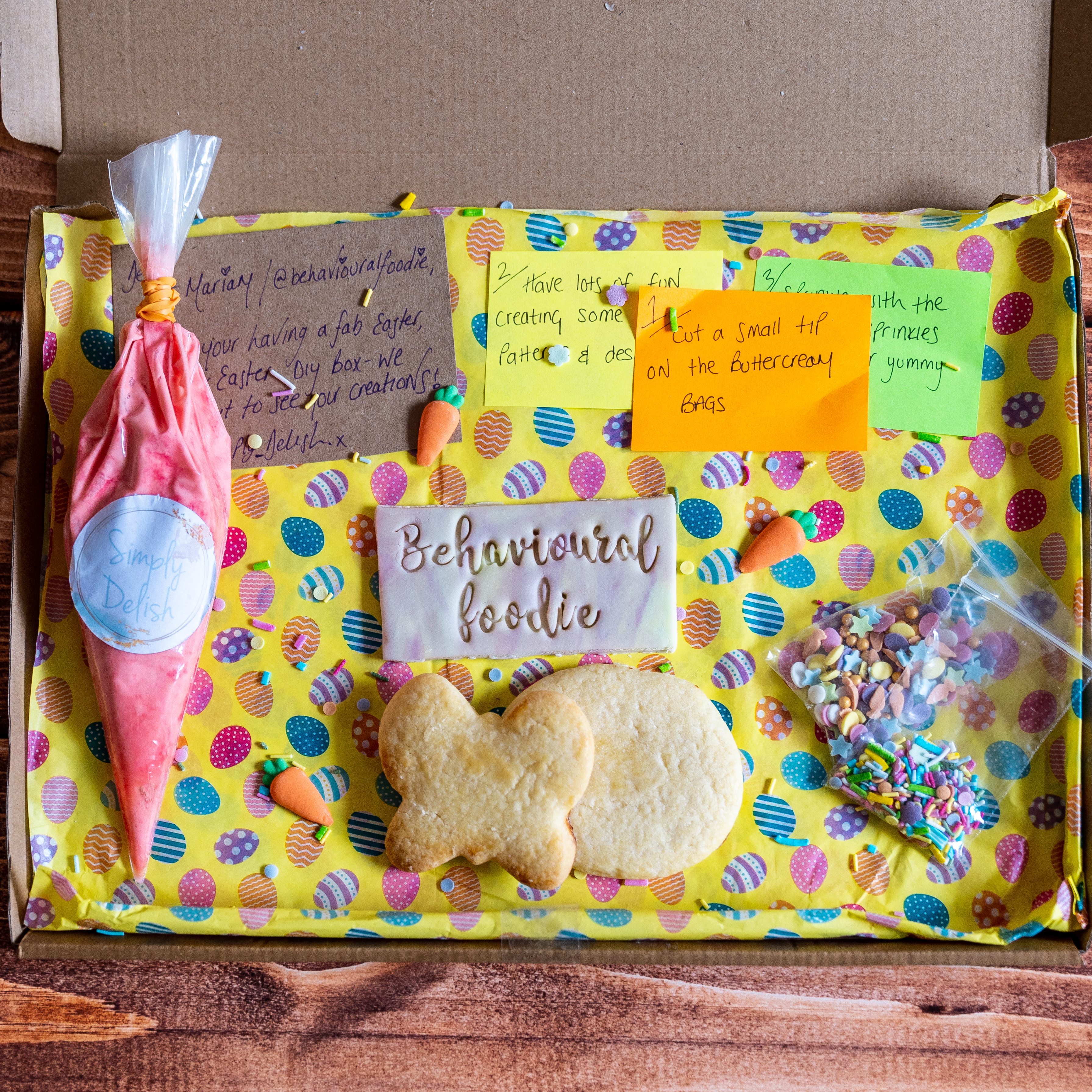 DIY Cookie Decorating Kit with Simply Delish