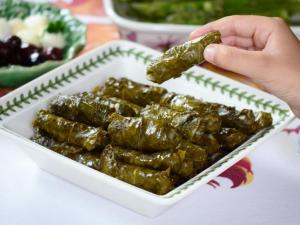 that grape leaves