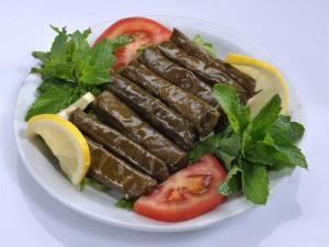 grape leaves are