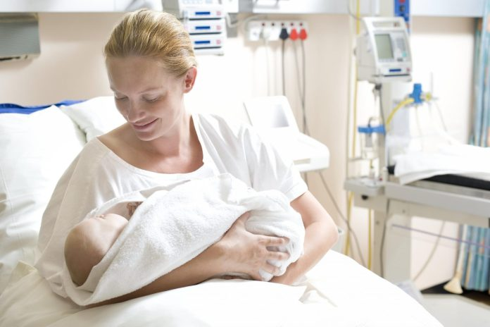 mother's chance of cesarean