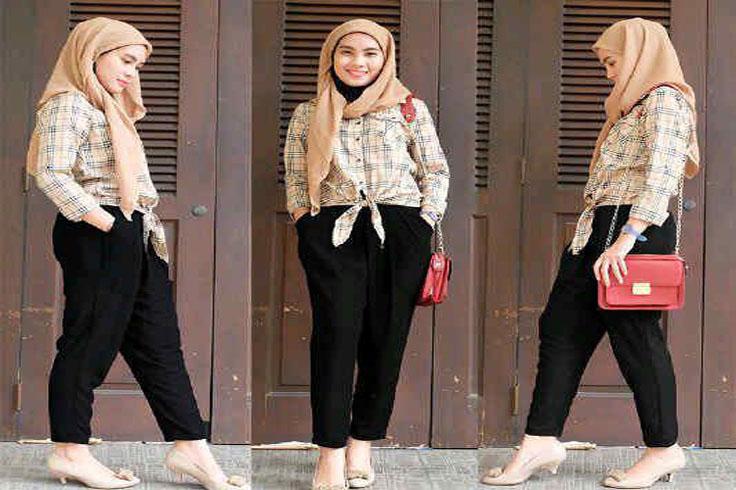 Berhijab Dengan Gaya Tomboy Blog Behijab Koleksi Hijab Fashion Terbaru Cuman Di