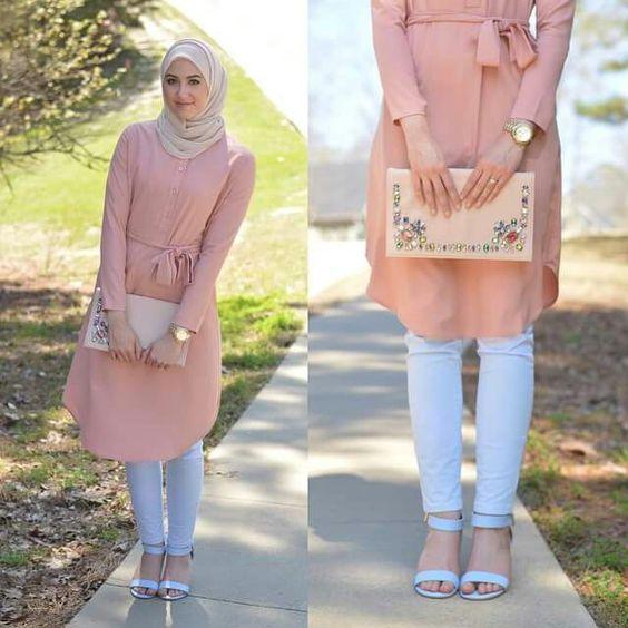 Aih Lucunya Padu Padan Setelan Hijab Buat Liburan Panjang Blog