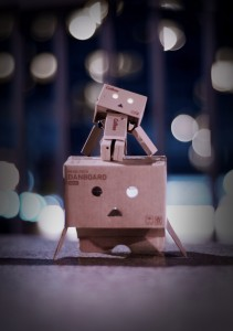 Danbo at work