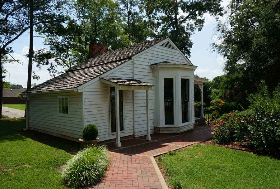 teacher and helen keller stayed in this small cottage