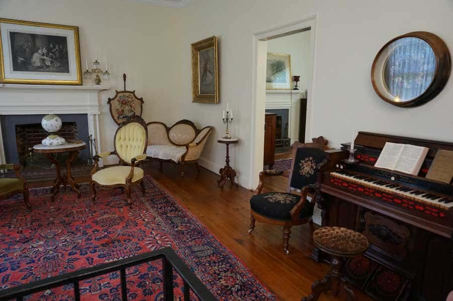 living room inside Ivy Green
