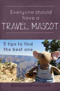 Every family should have a travel mascot! See our favorite adventures and find tips for choosing your own travel mascot.