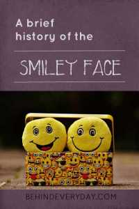 A brief history of the smiley face