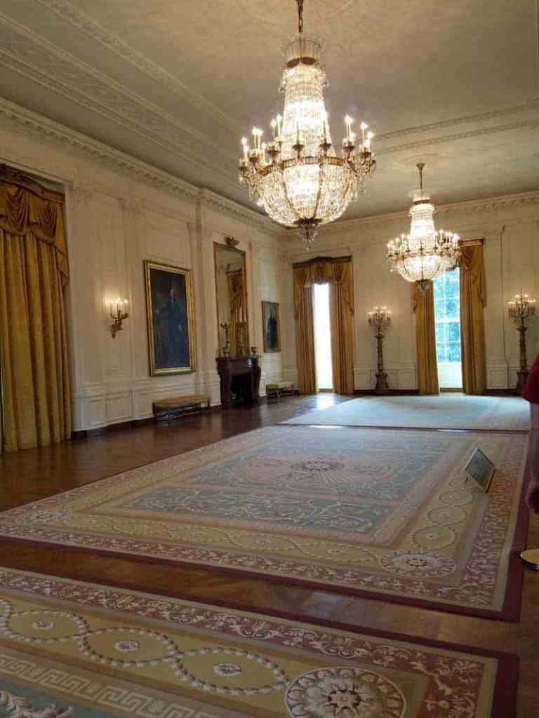 East Room at the White House