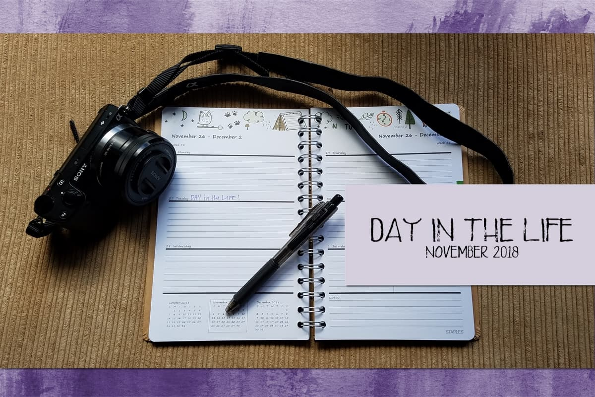 Day in the Life November 2018 via @behindeveryday