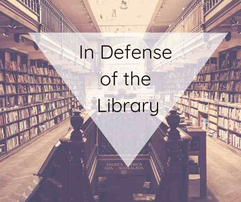 In Defense of the Library