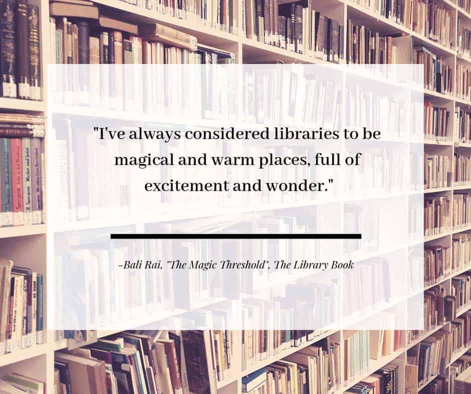 The Magic Threshold by Bali Rai, The Library Book