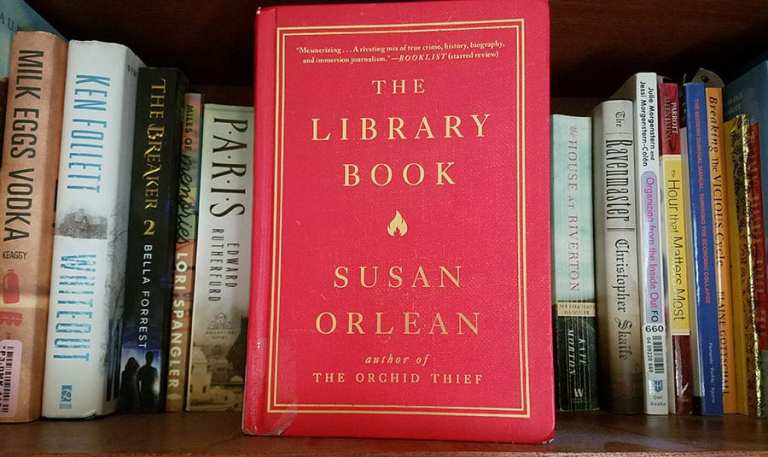 The Library Book: A True Story About the Largest Library Fire in America