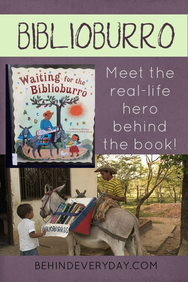 Luis Soriano is a modern-day, one-man version of the Packhorse Librarians. He is a teacher in Columbia and twice a week he loads his two burros with books, grabs his biblioburro sign, and rides for 8 hours round-trip to bring books to rural children near la Gloria, Columbia.