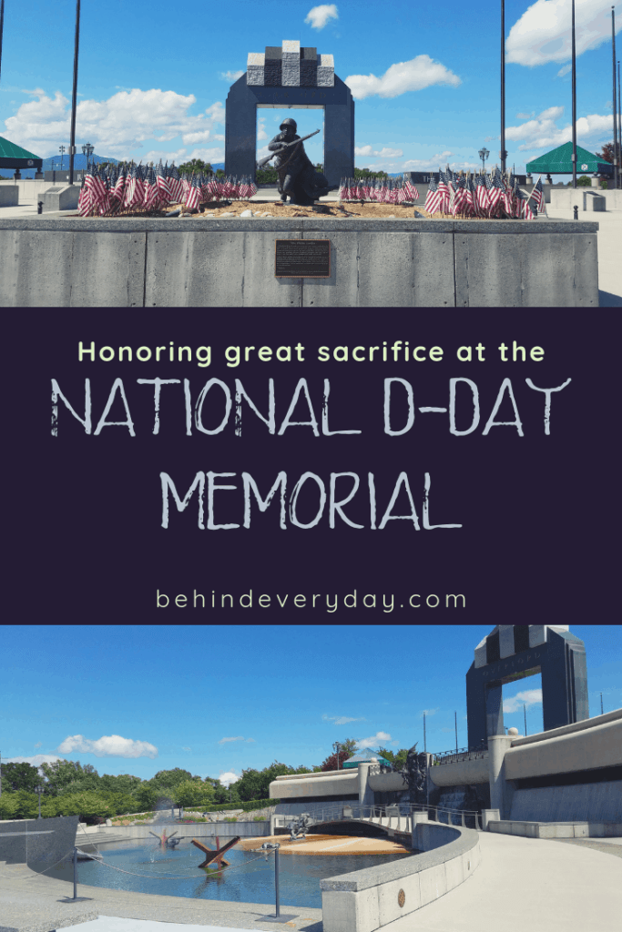 Commemorating the valor, fidelity, and sacrifice of the thousands of Allied forces who stormed the beaches of Normandy, the National D-Day Memorial in Bedford, Virginia is a perfect way to honor them all. Far from the hustle and bustle of Washington, DC, the monument has been built in a small community that is representative of many communities throughout the country that suffered losses in WWII.