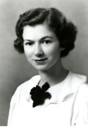 Beverly Cleary as a senior at University of California, Berkeley in 1938