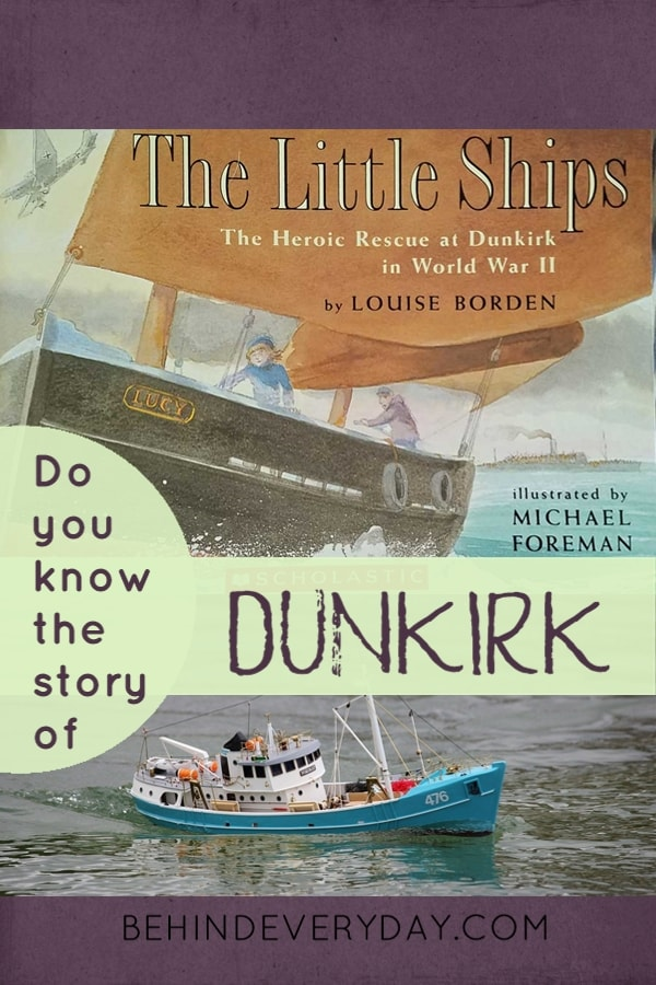 When we all work together, amazing things can happen. Thanks to the brave fishermen and other small boat owners who answered the call, over 330,000 British and French troops were rescued from the beaches of Dunkirk in the early years of World War II. The Little Ships by Louise Borden is a great introduction to this remarkable rescue operation.