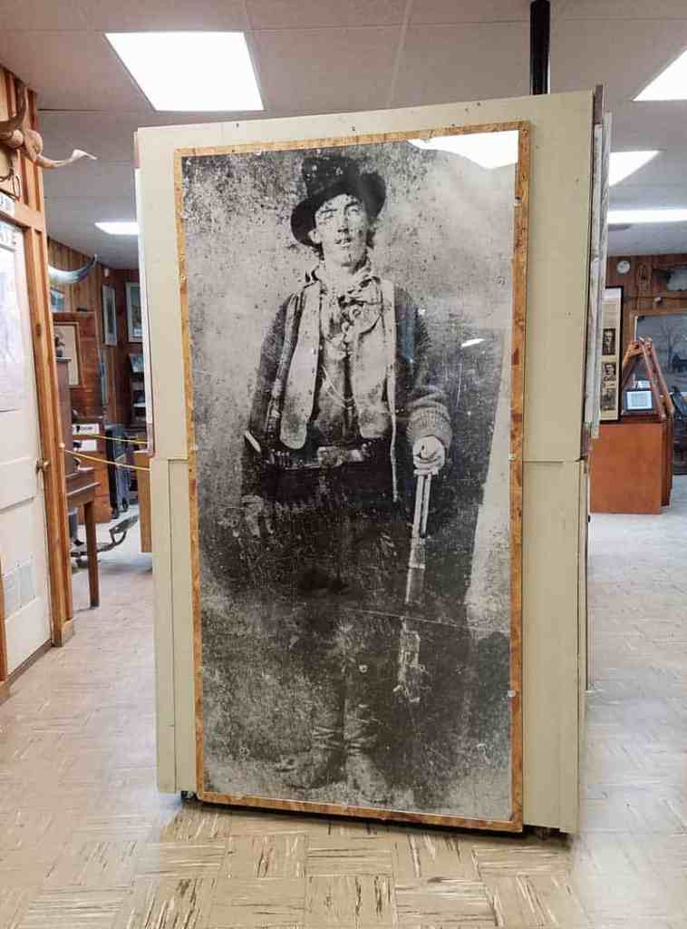Life size replica of Billy the Kid photo