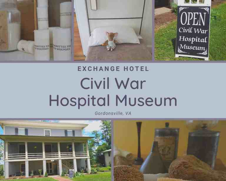 Were there ghosts?! Visiting the Exchange Hotel Civil War Medical Museum
