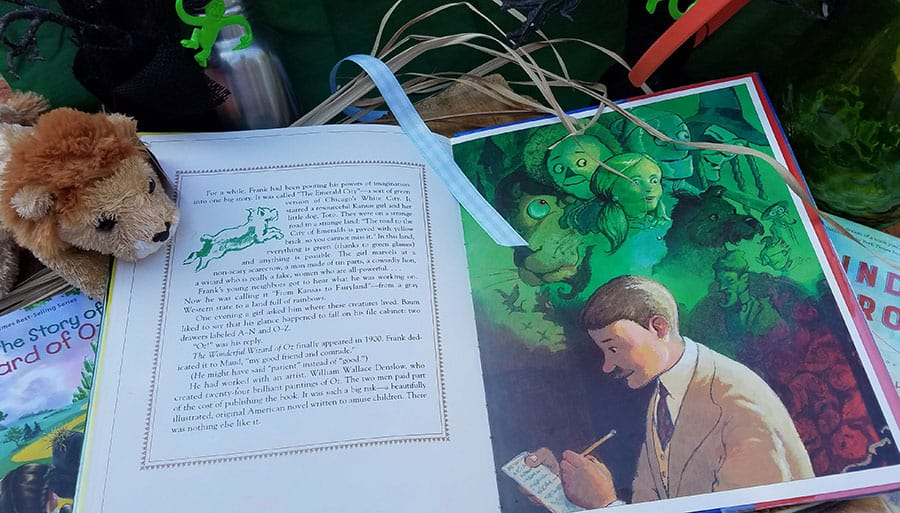 Interior book pages of The Road to Oz by Kathleen Krull