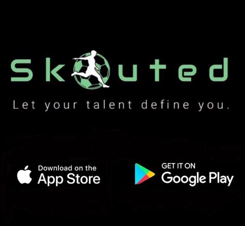 Skouted app. Available on the App Store and Google Play