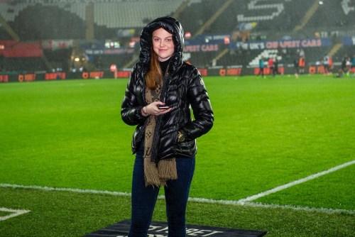 Sophie Davis on matchday