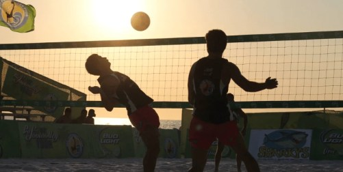 Footvolley sports business