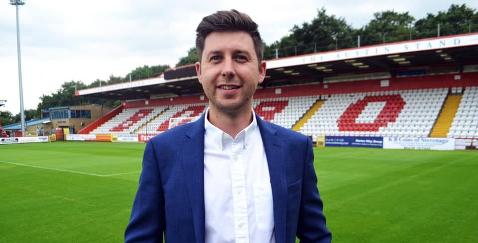Alex Tunbridge | Chief Executive Officer at Stevenage FC
