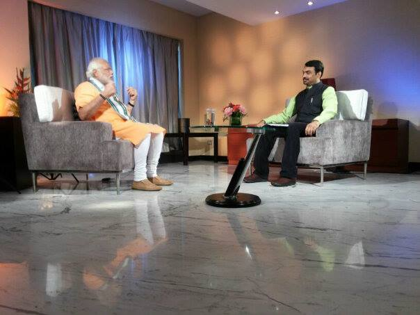 pandey with modi