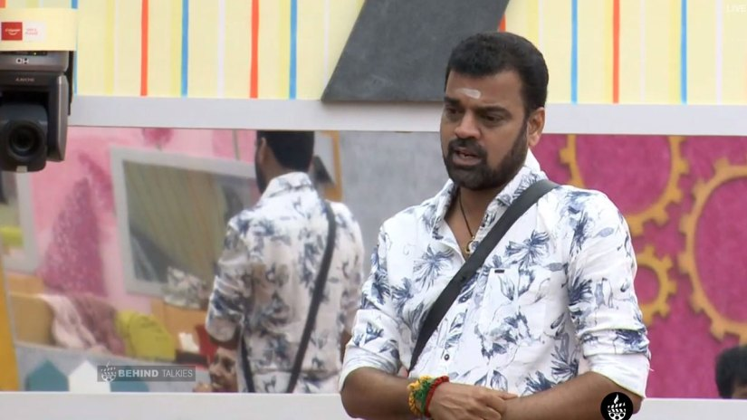 Dhadi Balaji in Bigg Boss House