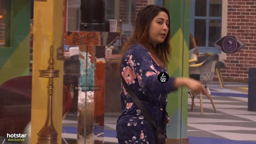 Archana Angry In Bigg Boss House