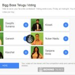 Bigg Boss Vote Telegu step 3 - Behind Talkies