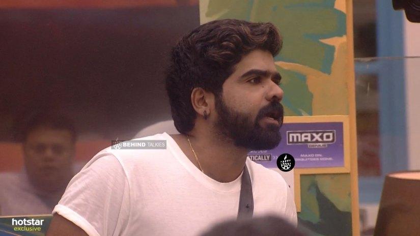 Deepan Murali Angry in Bigg Boss House