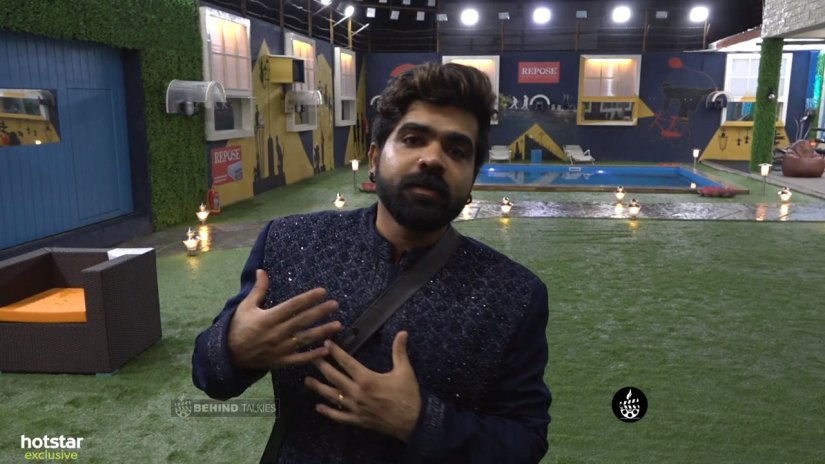 Deepan Murali in Bigg Boss House