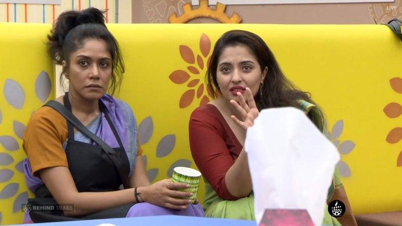Mamathi and Mumtaj Angry in Bigg Boss House