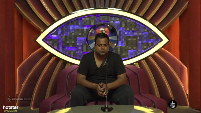 Manoj Varma Farewell In Bigg Boss House