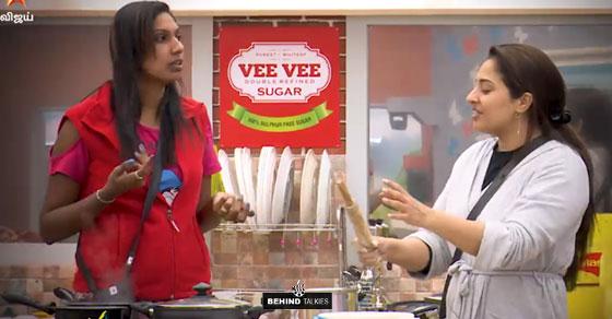 Nithya and Mumtaz in Bigg Boss