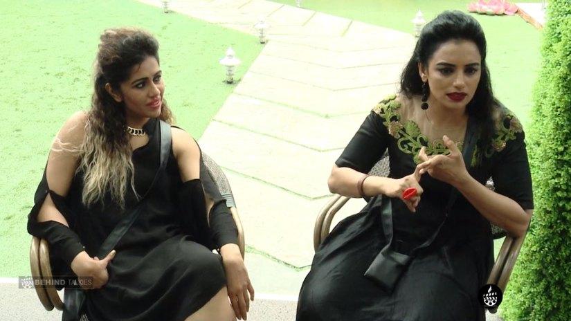 Ranjani Haridas and Menon In Bigg Boss House