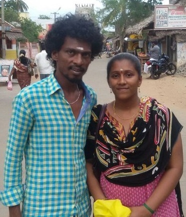 Sendrayan and his wife