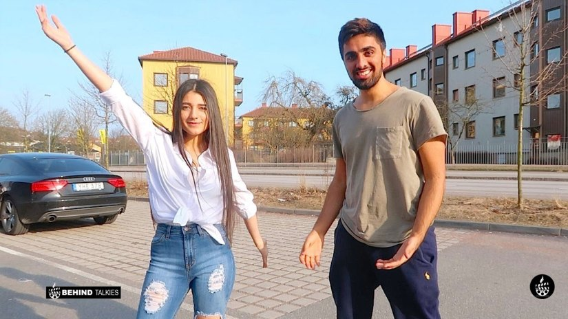 Mo Vlogs and Narine in Sweden