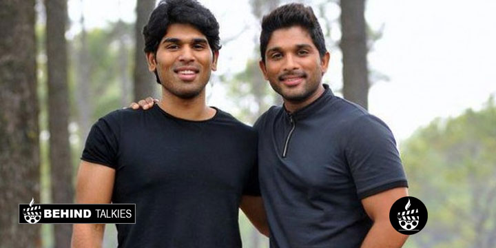 Allu Arjun with his brother Allu SIrish