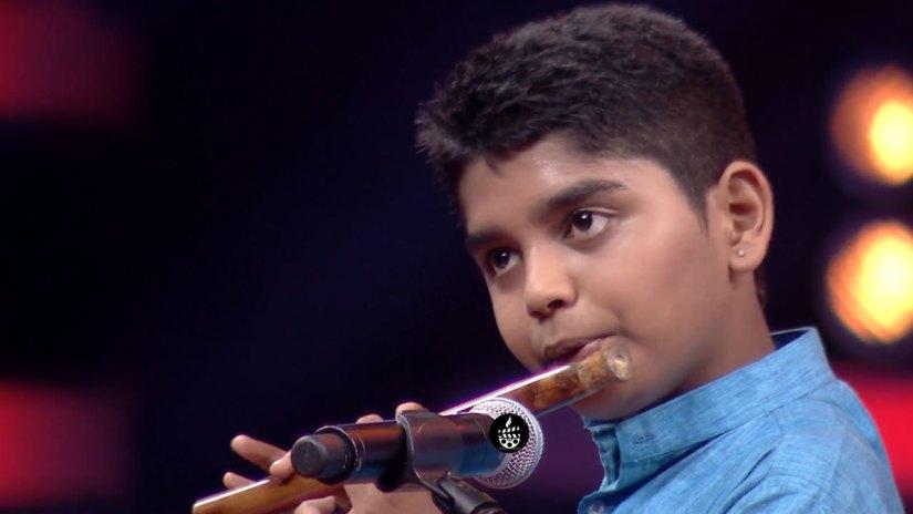 Anand Sharma Playing Fluet