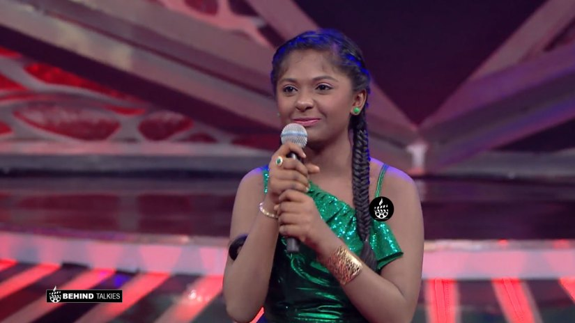 Super Singer Drishya in getup round