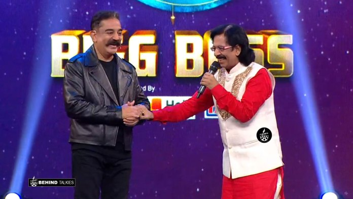 Mohan Vaidya with Kamal in Bigg Boss