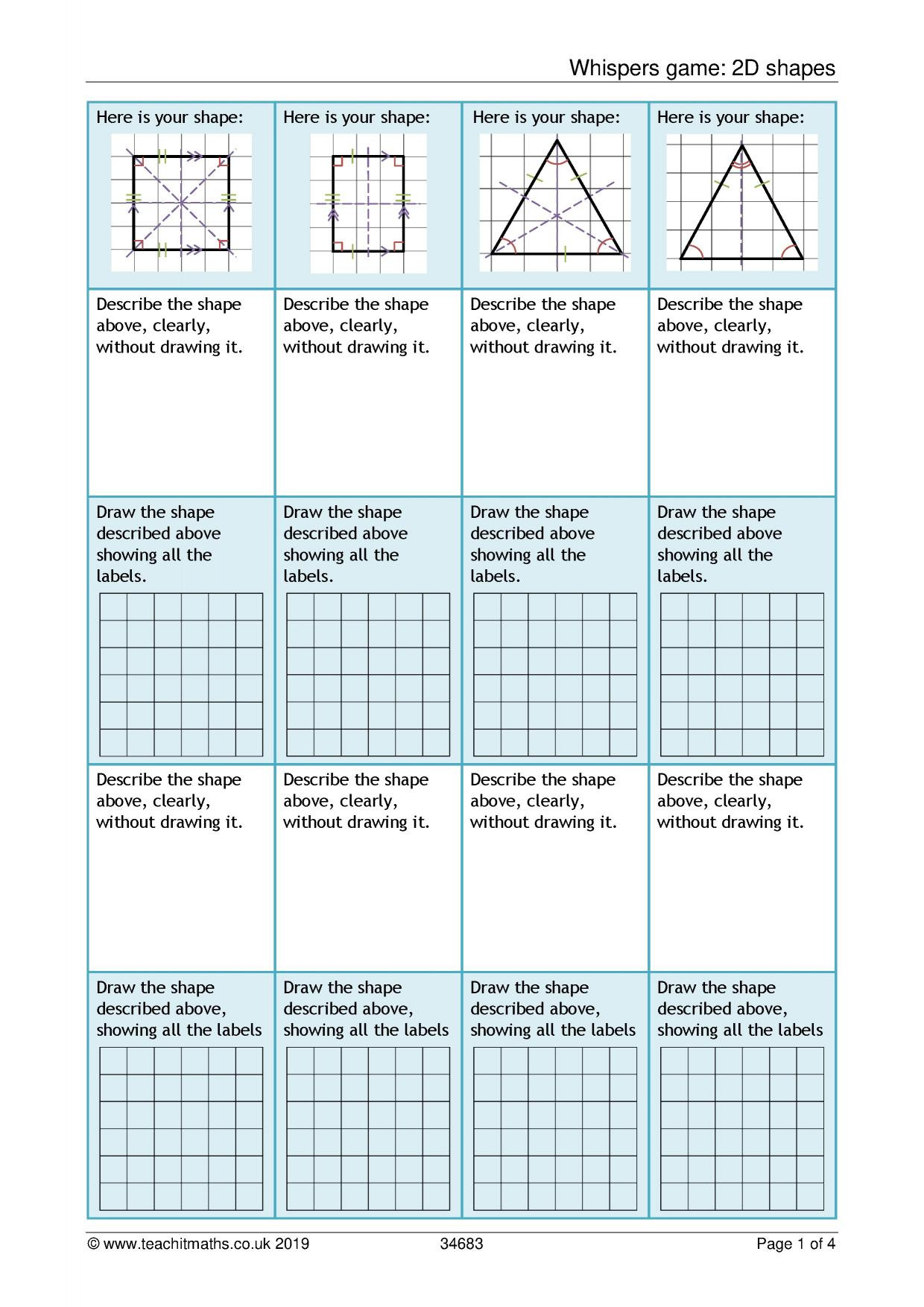 Math Aids Compound Shapes Area And Perimeter Of Pound