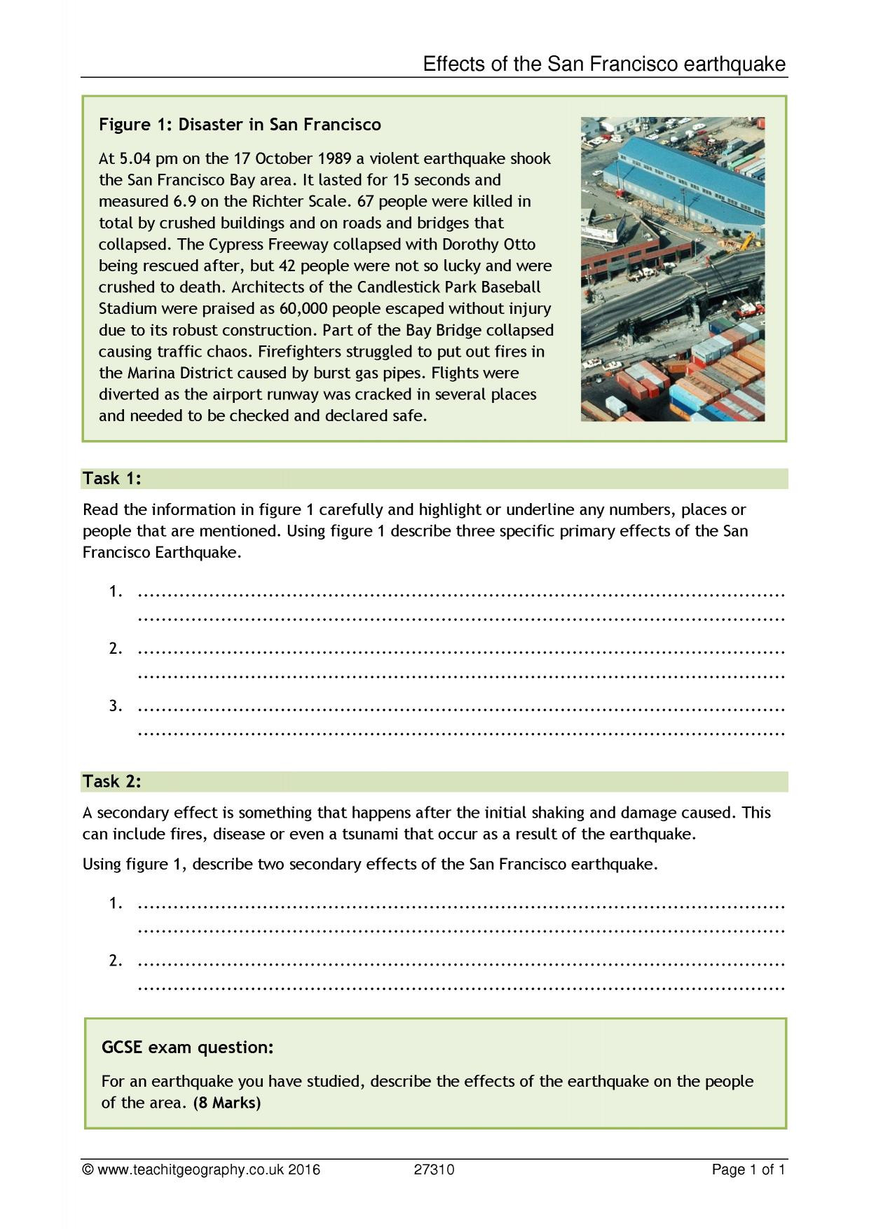 Education Worksheet Template