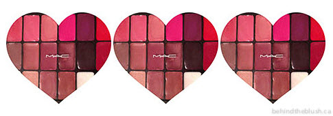 MAC Lipstick Palette