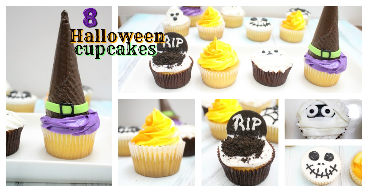Behind the Cake~ Easy Halloween cupcakes