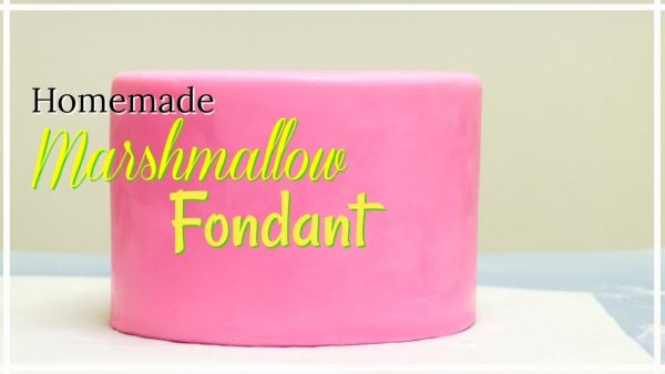 Behind The Cake- Marshmallow fondant recipe / How to make marshmallow fondant.
