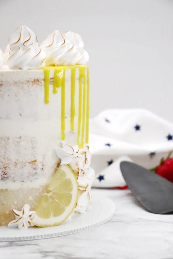 Lemon Cake Recipe from scratch using freshly squeezed lemon juice.